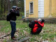 Ekipa fotograficzna w swoim żywiole