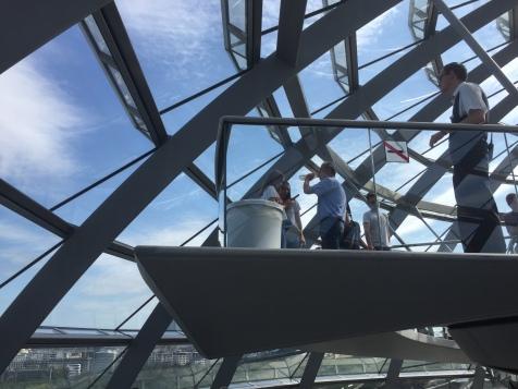 Spacery w architekturze, czyli kopuła na Reichstagiem